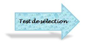 test de sélection