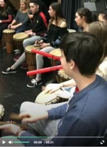 Atelier de percussions africaines PÉI-4